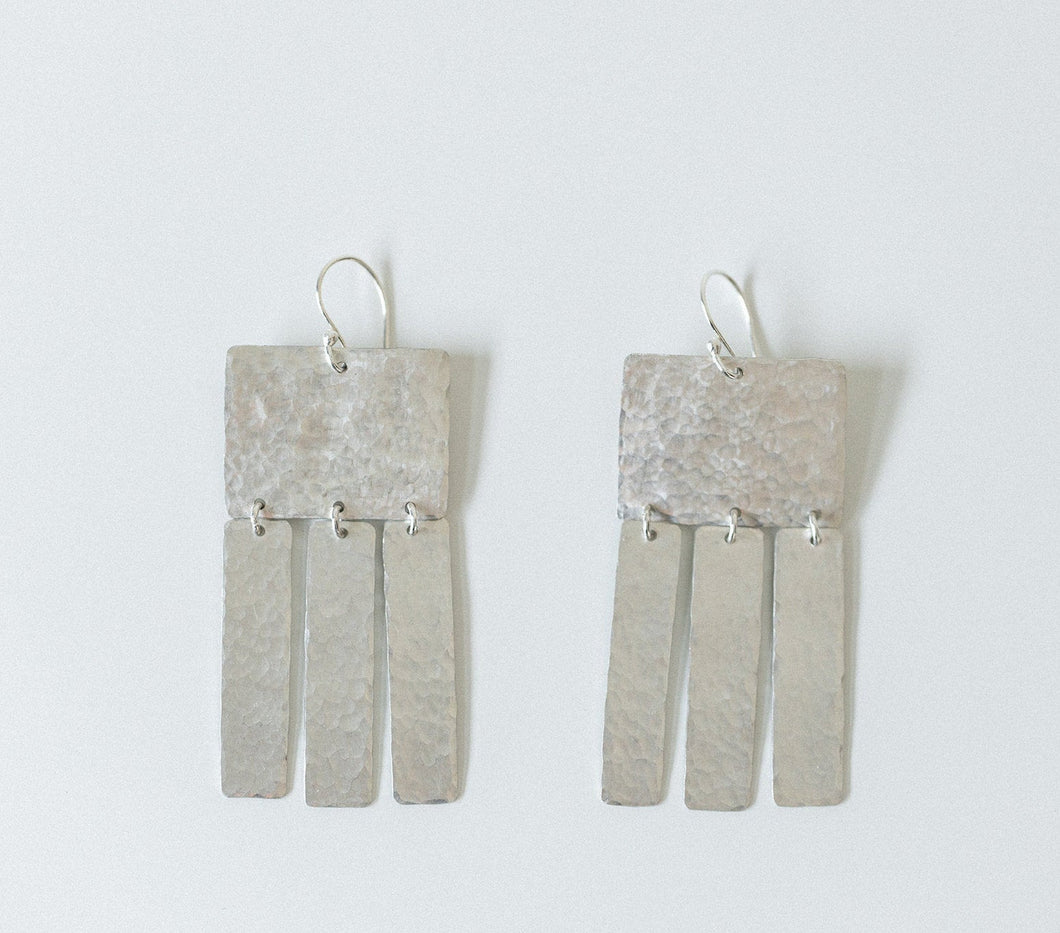 Earring Silver - LIGHT DANCERS MINI