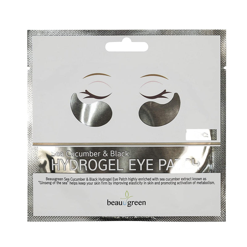 Beauugreen Sea Cucumber & Black Hydrogel Eye Patch (2pcs)