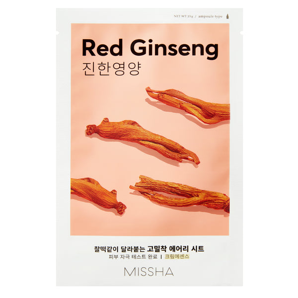Missha Airy Fit Sheet Mask (Red Ginseng)