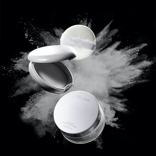 Missha Airy Pot Powder Translucent matistav puuder
