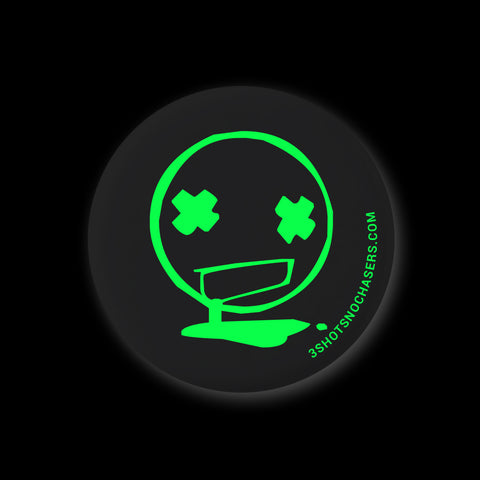 Toxic Black & Green Pin