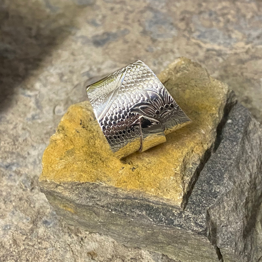 Wrap Around Original Silver Collection Ring