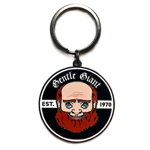 Giant Face Keychain
