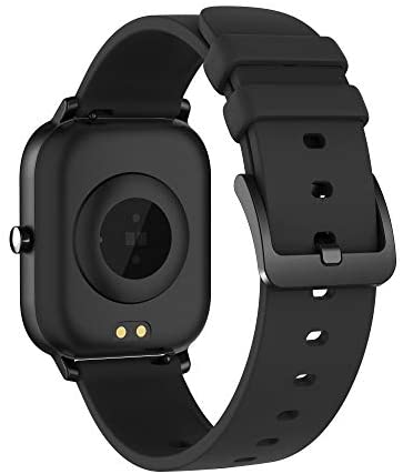 AMATAGE Smart Watch for Men Women(Black)