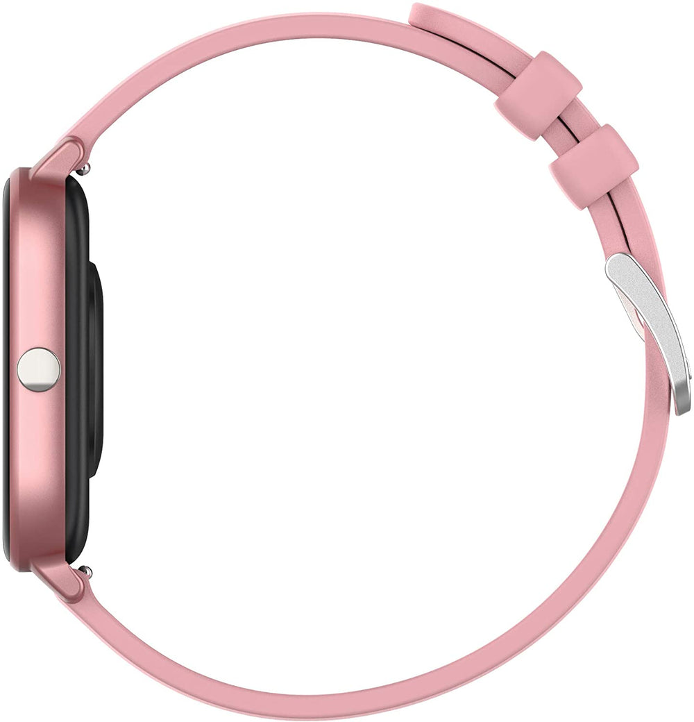 AMATAGE Smart Watch for Android Phones iPhone(Pink)