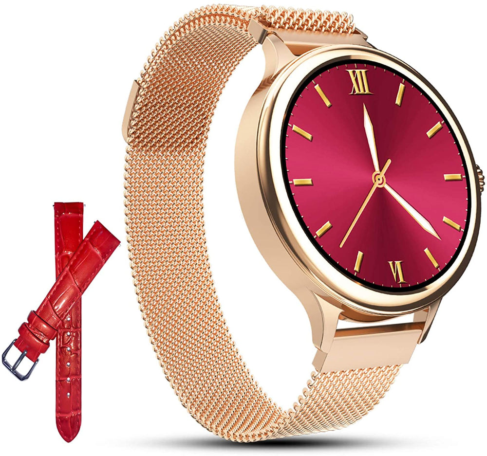 AMATAGE Smart Watch for Women(M4-Gold)