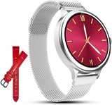 AMATAGE Smart Watch for Women(M4-Silver)