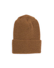 Load image into Gallery viewer, Wool Military Watch Cap - Tan