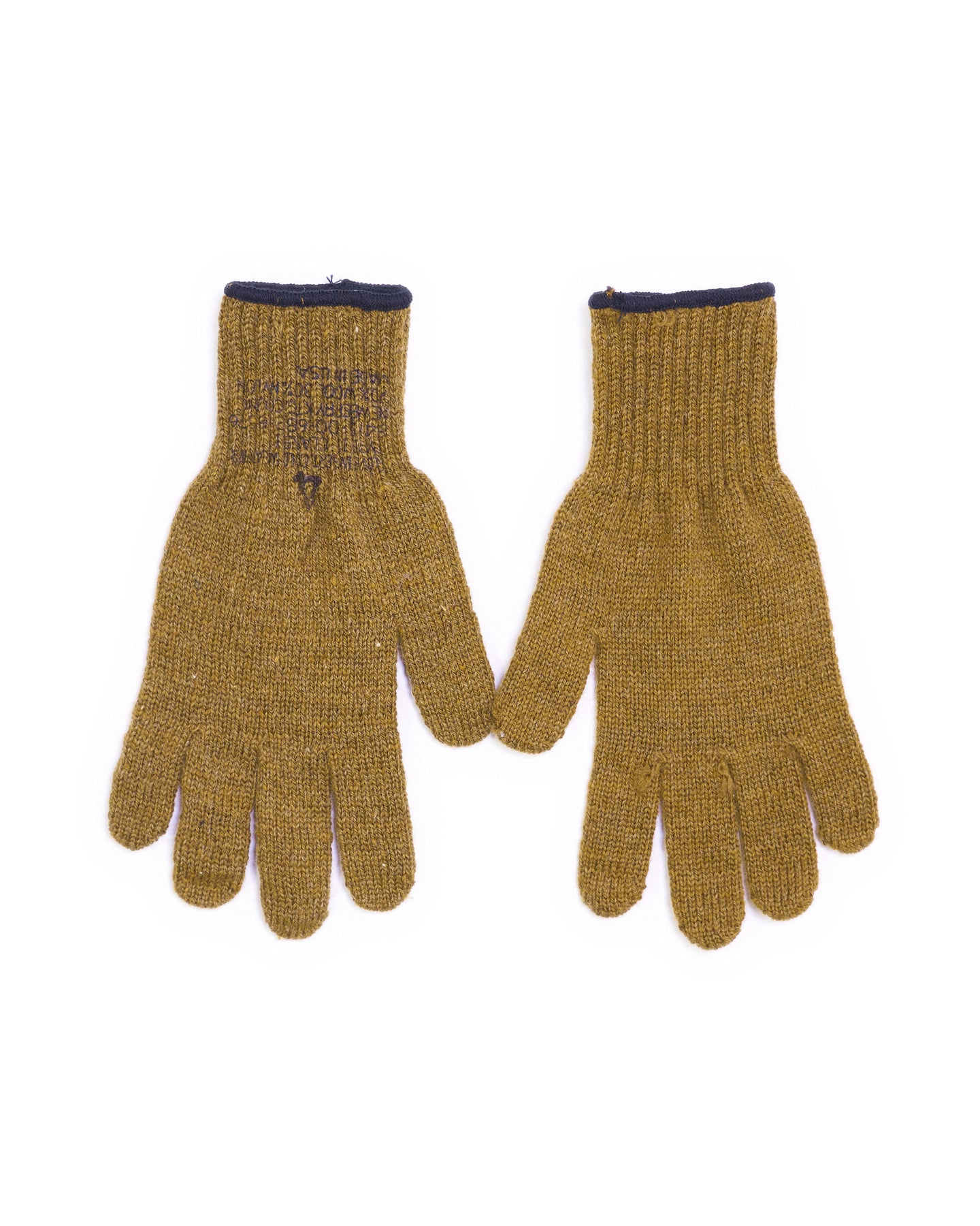 Wool Military Gloves - Tan