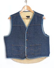 Load image into Gallery viewer, Two Toned Sears Denim Vest