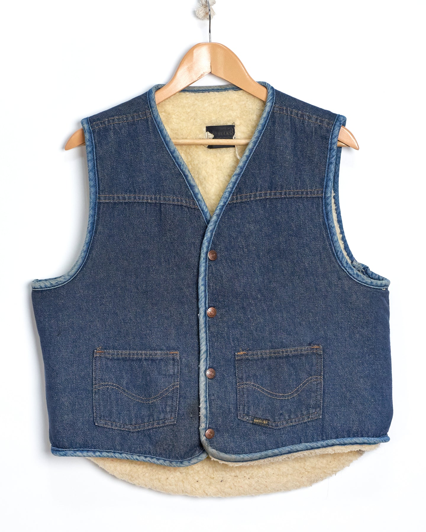 Two Toned Sears Denim Vest