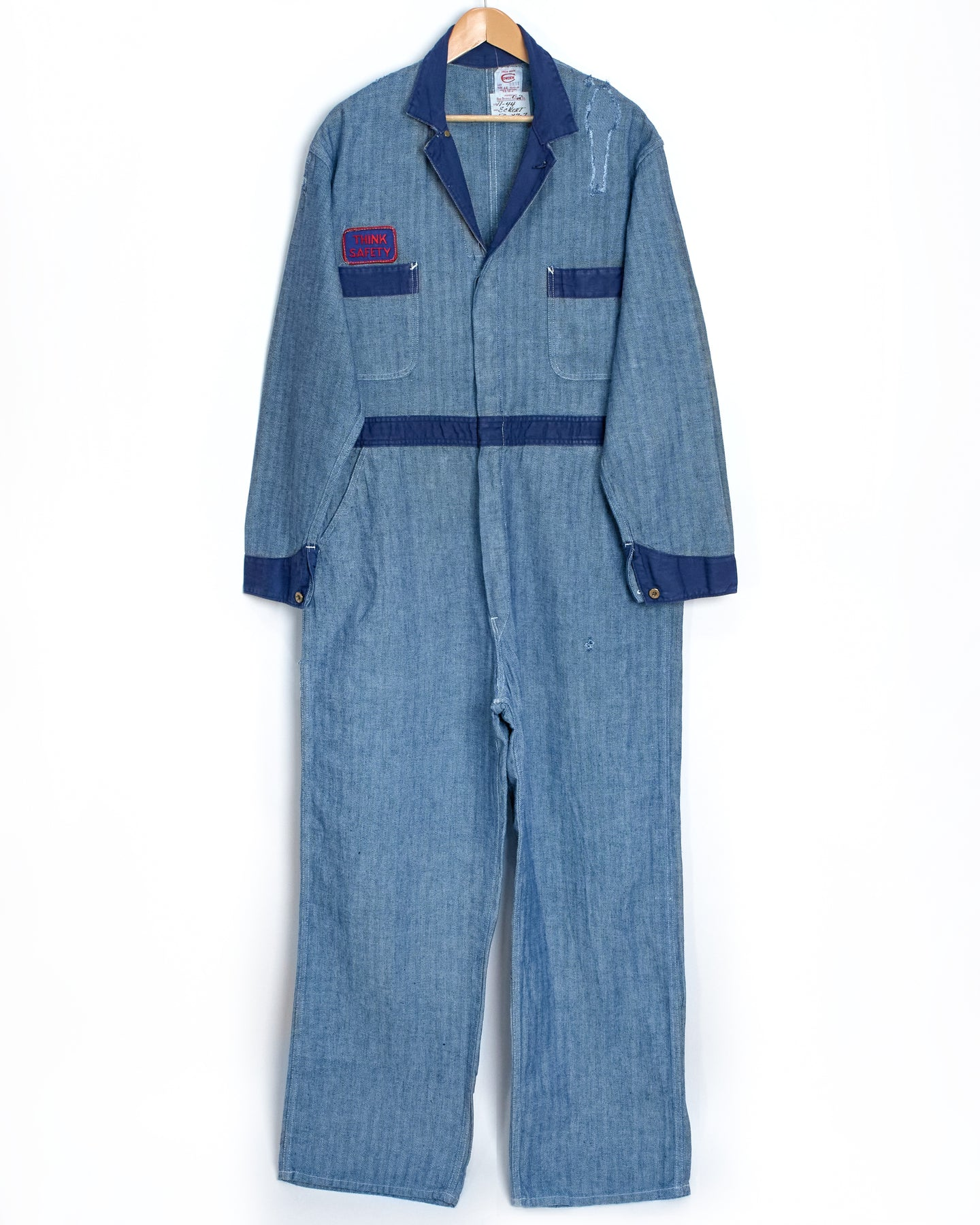 1960s Union Made Mechanic Coveralls