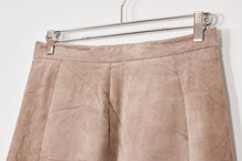 Load image into Gallery viewer, Nude Leather Skirt