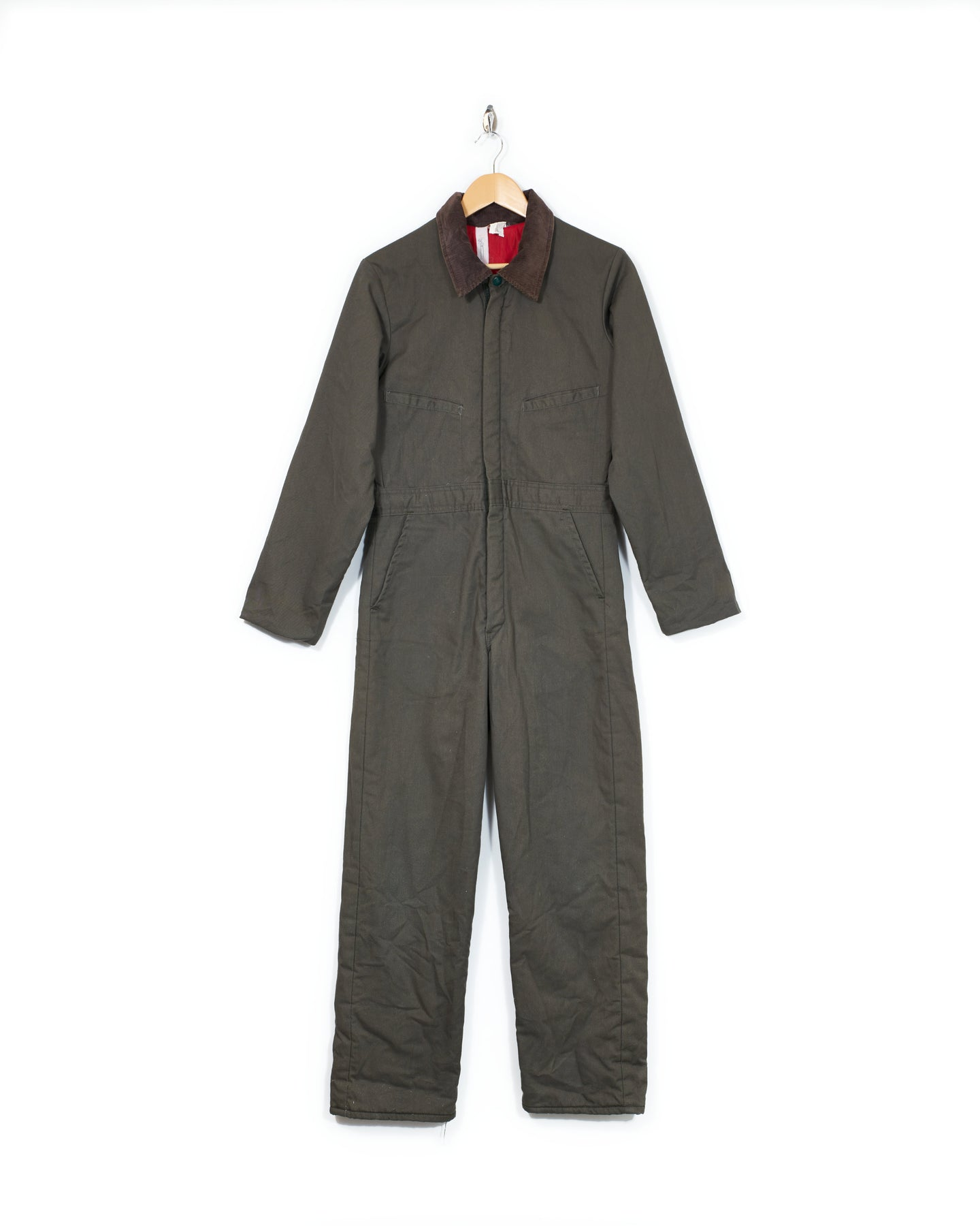 Key Cord Collar Coveralls