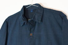 Load image into Gallery viewer, Indigo-Dyed Smock Shirt