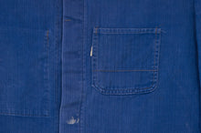 Load image into Gallery viewer, Royal Blue Herringbone Chore Jacket