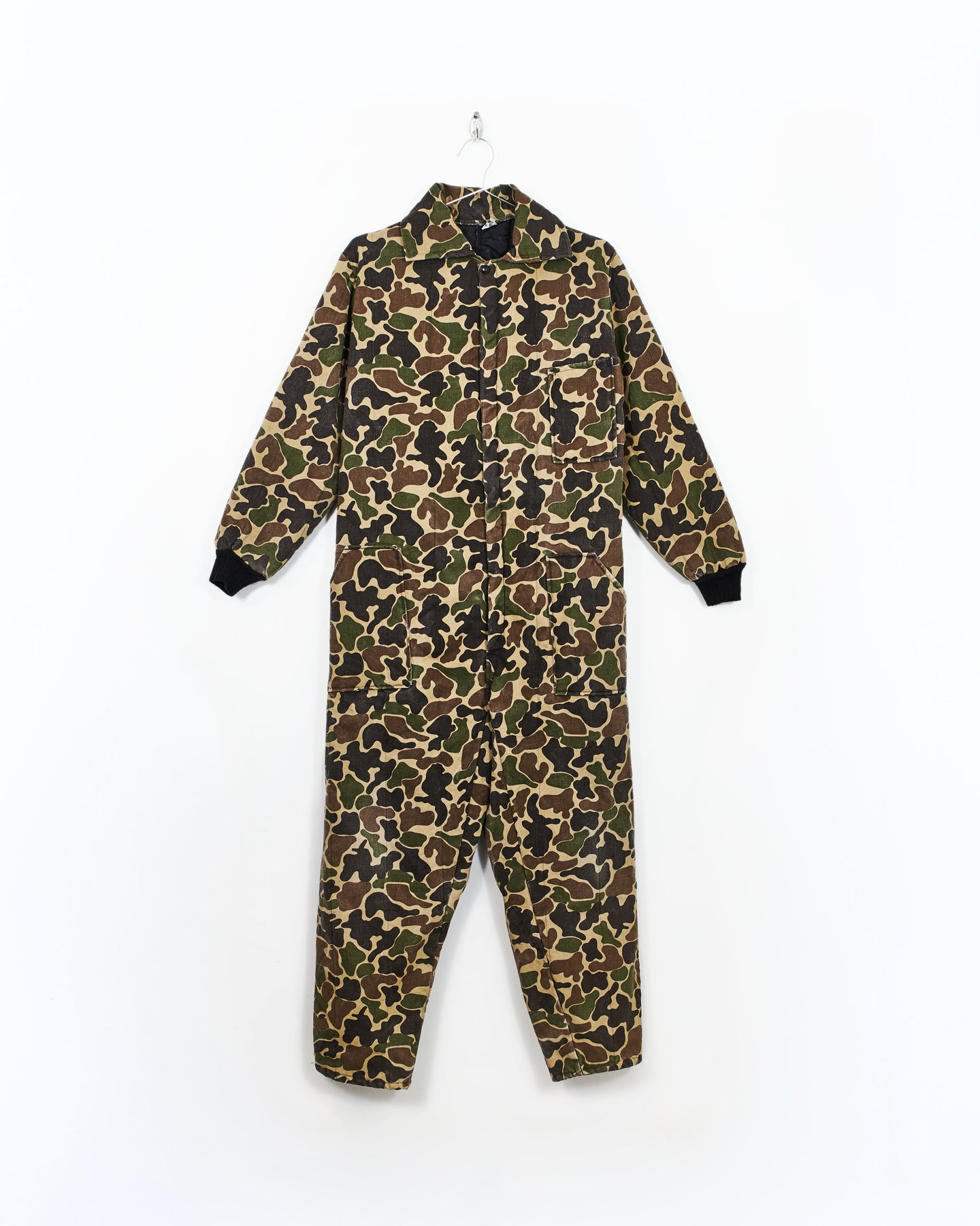 Insulated Camo Coveralls
