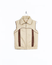 Load image into Gallery viewer, Cord Trim Puffer Vest