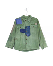 Load image into Gallery viewer, Mended 1970s US Army Shirt Jacket