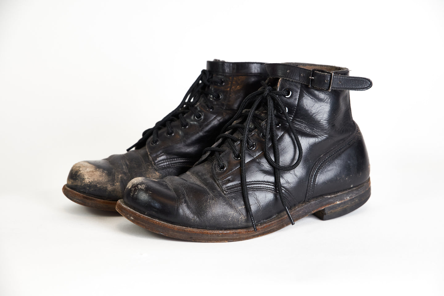 1950s Motorcycle Boots