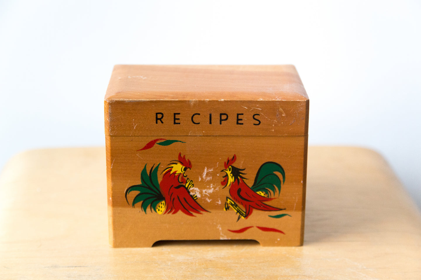 Japanese Recipe Box