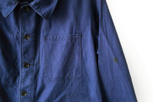 Load image into Gallery viewer, Dark Blue French Chore Jacket