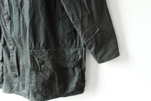 Load image into Gallery viewer, Charcoal Barbour Jacket - Beaufort - 40