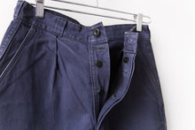 Load image into Gallery viewer, Navy French Workwear Pants 29x30