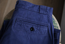 Load image into Gallery viewer, Blue French Workwear Pants 32x29