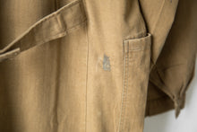 Load image into Gallery viewer, Khaki European Chore Coat