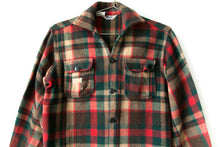Load image into Gallery viewer, 70's Plaid Wool Flannel