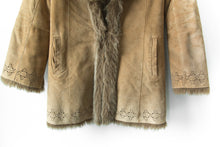 Load image into Gallery viewer, Leather Penny Lane Coat