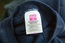 Load image into Gallery viewer, Hanes Navy Crewneck Sweatsuit