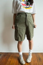Load image into Gallery viewer, 1975 Dutch Military Shorts Size 26-30