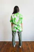 Load image into Gallery viewer, 1960s Neon Green Hawaiian Shirt