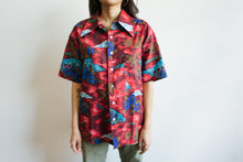 Load image into Gallery viewer, 1960s Hula Hawaiian Shirt