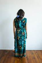 Load image into Gallery viewer, Turquoise Floral Dress
