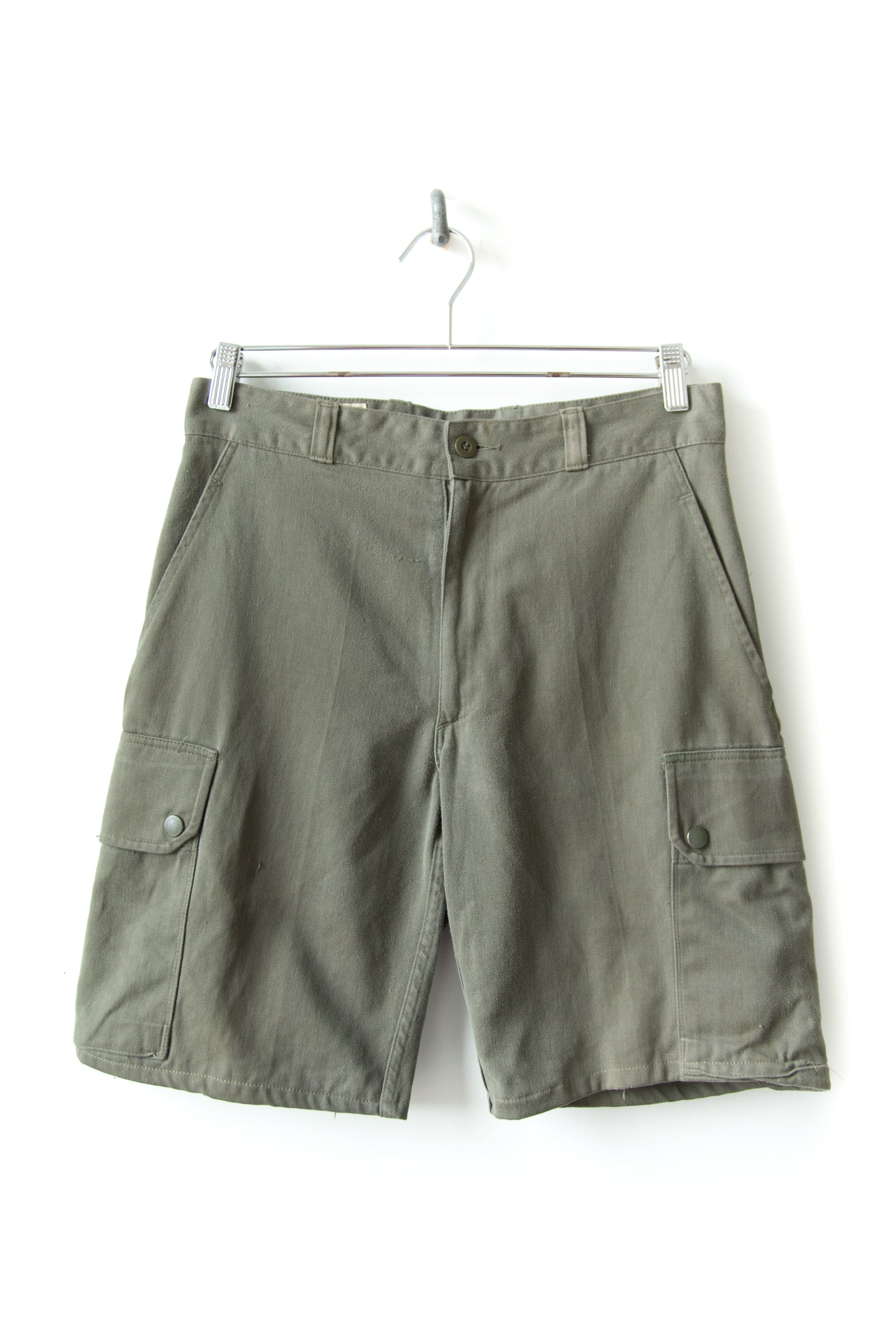 1987 Soft French Military Shorts Size 31