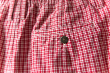 Load image into Gallery viewer, Red Plaid Shorts Size 28