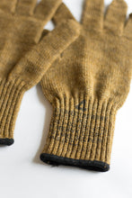 Load image into Gallery viewer, Wool Military Gloves - Tan