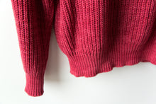 Load image into Gallery viewer, Ribbed Neck Sweater