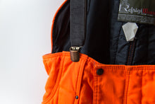 Load image into Gallery viewer, Orange Insulated Overalls