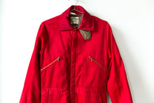 Load image into Gallery viewer, Red Insulated Coveralls