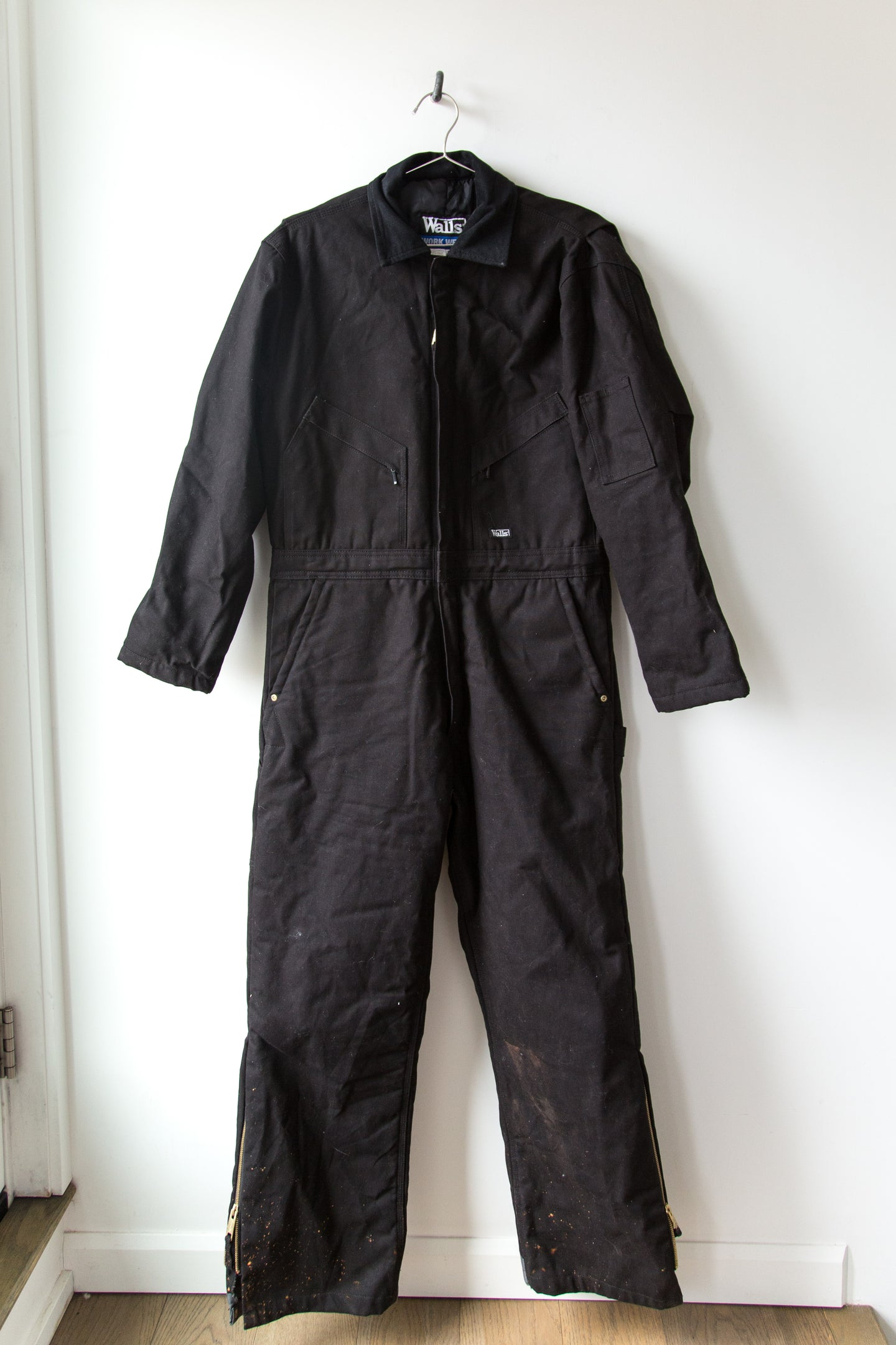 Walls Black Insulated Coveralls