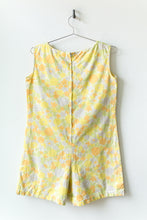 Load image into Gallery viewer, 1960s Floral Playsuit