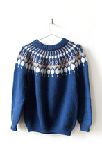 Load image into Gallery viewer, Nordic Sweater - Blue/White