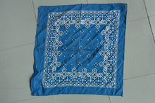 Load image into Gallery viewer, Cotton Bandana - Blue