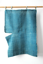 Load image into Gallery viewer, Light Indigo-Dyed Boro Textile
