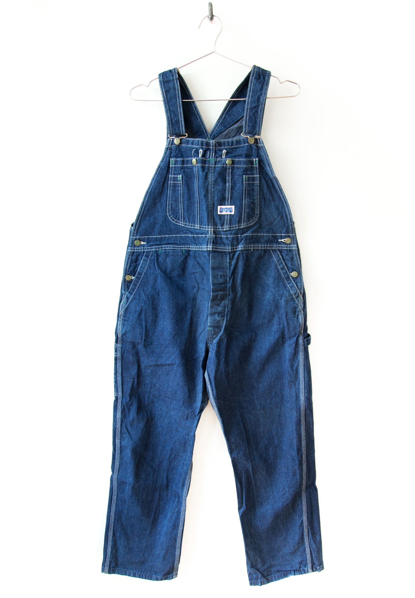 Big Smith Green Button Overalls
