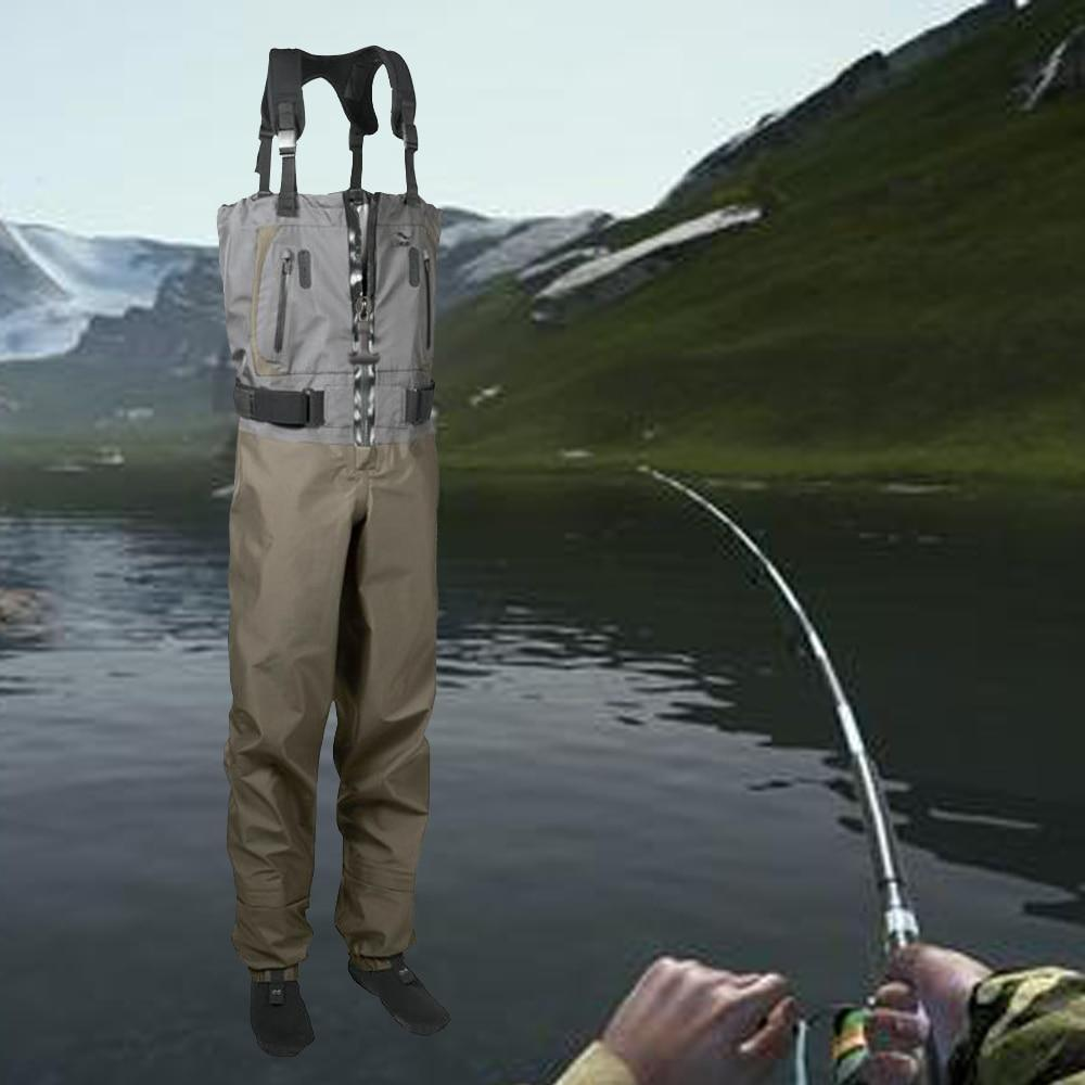 Waterproof Breathable Chest Waders Premium Wet Suit For Fishing - Fishing Manor